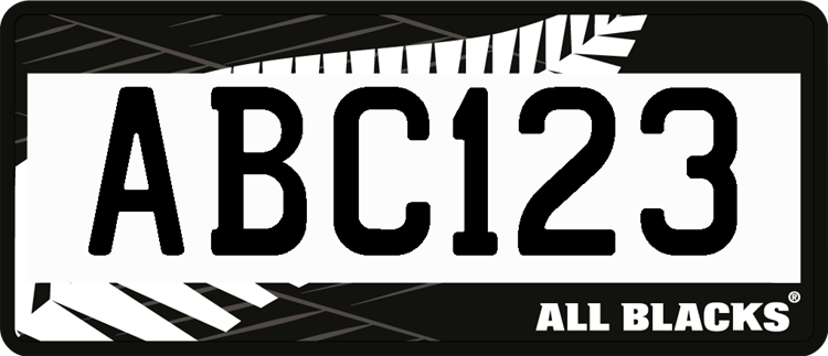 ABC123 plate image