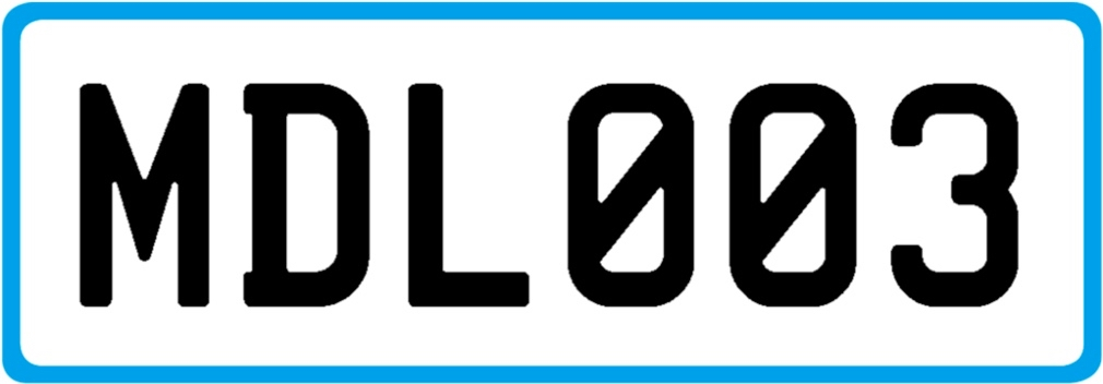 Plate MDL003