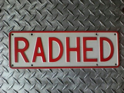 Plate RADHED