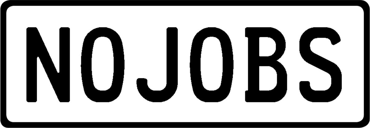 Plate NOJOBS