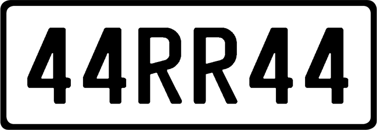 Plate 44RR44