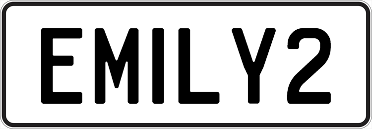 Plate EMILY2