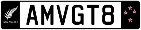 Plate AMVGT8