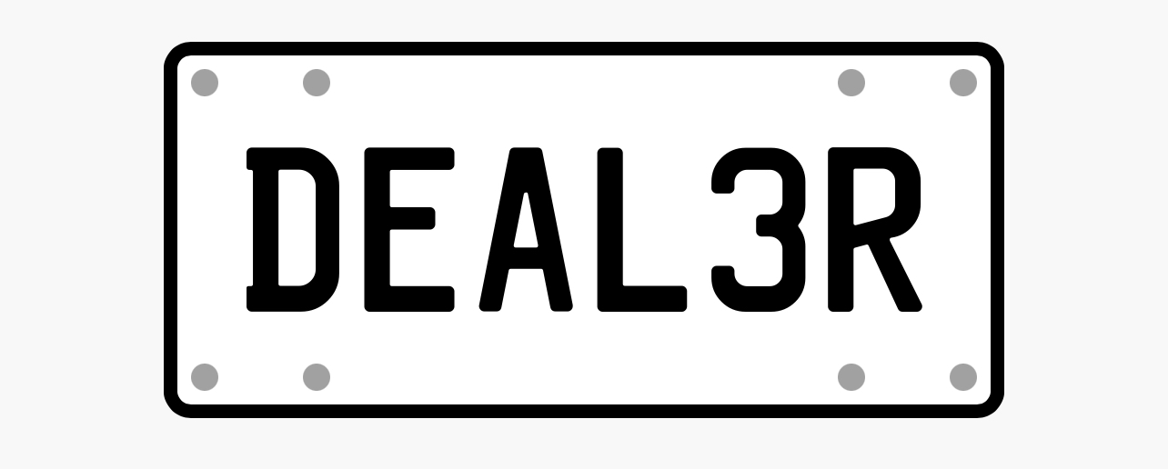 Plate DEAL3R